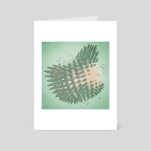 CAW CA CAUCUS - Art Card by drewmadestuff