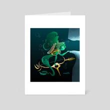 Mermay : Ranger - Art Card by Johanna Taylor