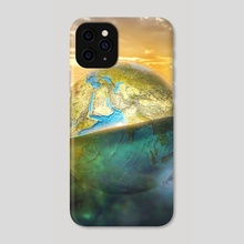 the planet - Phone Case by Even Liu