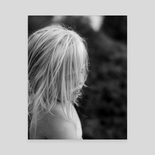 Blonde - Canvas by Sjoerd Spendel