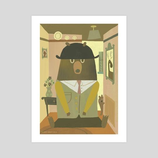 Bear In The Hallway by Greg Abbott
