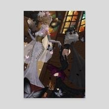 The Bride Geisha (Butterfly) - Canvas by Gagimas