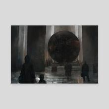 Promenade - Canvas by Michael  Berube
