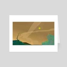 SPACE - Art Card by Liv H.
