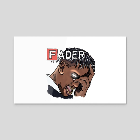 Travis For Fader Mag by Samuel ''PSYCO'' Opong