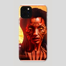 Chakrika Alvadile. From Chaos Quarter. - Phone Case by Paul Youll