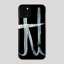 Alchemical Symbols - Pound Inverted - Phone Case by Wetdryvac WDV