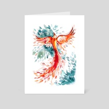 Firebird - Art Card by Emma SanCartier