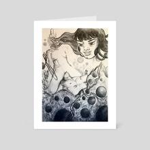 Myth of Kusama - Art Card by Quynh (Quinn) Luong
