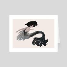 Mermaid - Art Card by Nicole Xu