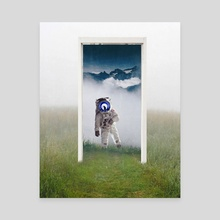Portal to the Astronaut - Canvas by Anthony Londer