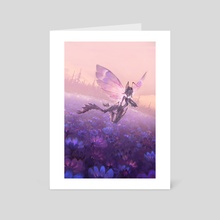 Bitterblossom - Faerie Rogue 4 - Art Card by Olena Richards