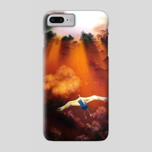 Above the bustling - Phone Case by Oleksandr Serdiuk