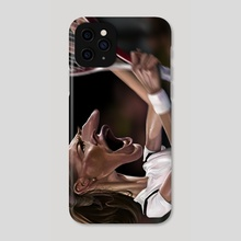 Steffi Graf - Phone Case by Alexander Novoseltsev