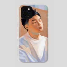 Do Kyungsoo Pastels - Phone Case by Khanh Van Pham
