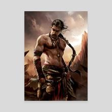 Khal Drogo - Canvas by Magali Villeneuve