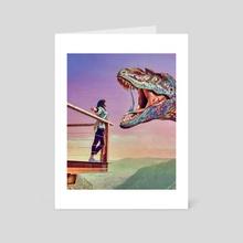 Jurassic - Art Card by Trey Patterson