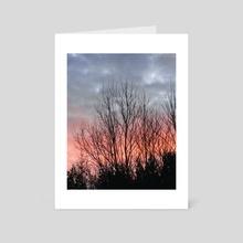 Moring Sky - Art Card by Colby Morris