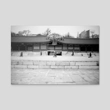 Urban - Korea - DEOKSUGUNG PALACE - Acrylic by Devtag Studios