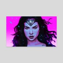 Wonder Woman - Canvas by Belén Ortega