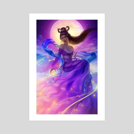 The Moon Goddess by Keri Ruediger