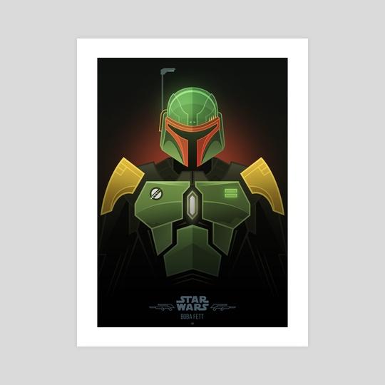 Star Wars Villains - Boba Fett by Jonathan Lam