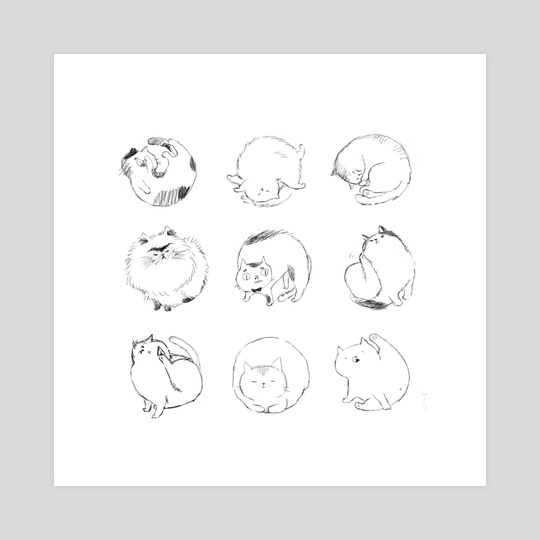 Fluff Balls by Misa Saburi