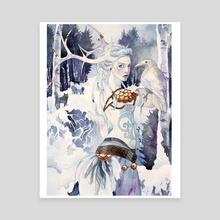 Skadi - Canvas by Amelia Leonards