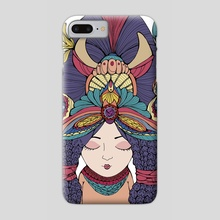 Indian girl - Phone Case by Viktoryia Smirnova