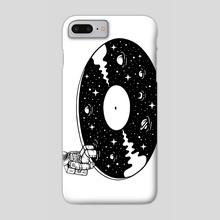 Cosmic Sound - Phone Case by Enkel Dika
