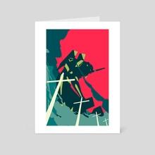 Neon Genesis Evangelion - Art Card by Alex Uploads