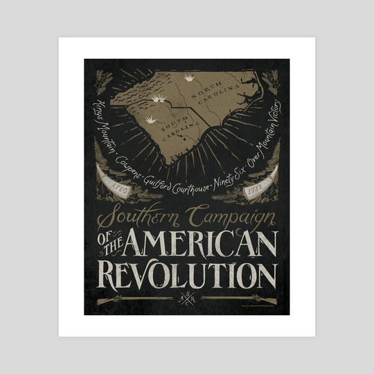 Southern Campaign - American Revolution by The Union Archive