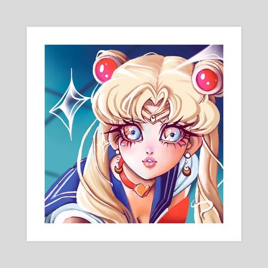 Sailor Moon Redraw  by Gabby Gordon