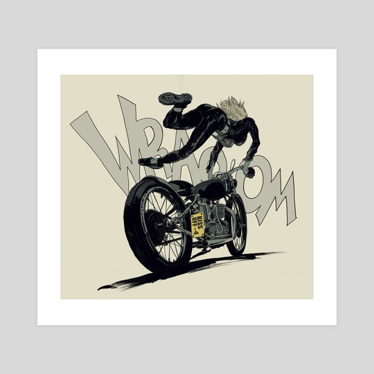 Motor Girl by Robert Sammelin