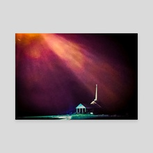 Faith 1 - Canvas by james williams