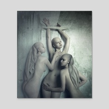 Tristesse - Acrylic by Daria Endresen