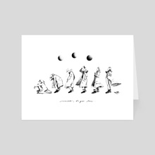 Moonchild - Art Card by Kaye Daily