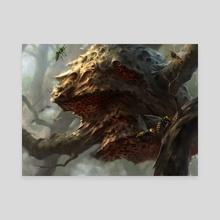 Hornets' Nest - Canvas by Adam Paquette