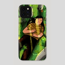 The Earth has music for those who listen... - Phone Case by Diya Sengupta