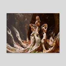 Trostani Discordant  - Acrylic by Chase Stone