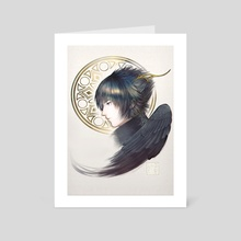 Noctis Lucis Caelum - Lucis - Art Card by WAY TOO EMILY