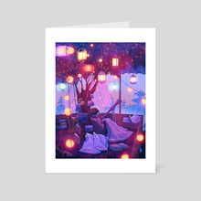 little hideout - Art Card by miena