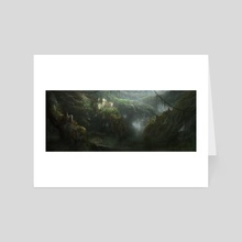 forest of luci - Art Card by Joshua Kim