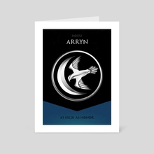 House Arryn - Art Card by Nikita Abakumov