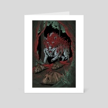 The Fallen Lord - Art Card by Lindsey Leigh