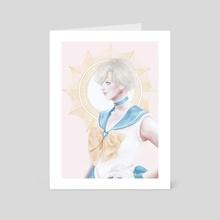 Sailor Uranus - Art Card by Cathy Tran