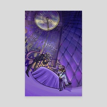 The Velvet Room (Custom Commission) - Canvas by Orion Schiada