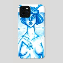 First Snow  - Phone Case by India Emmaline