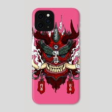 Agni Face of Fire - Phone Case by Andreas Kurniawan
