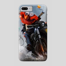 Elmo - Phone Case by Dan LuVisi